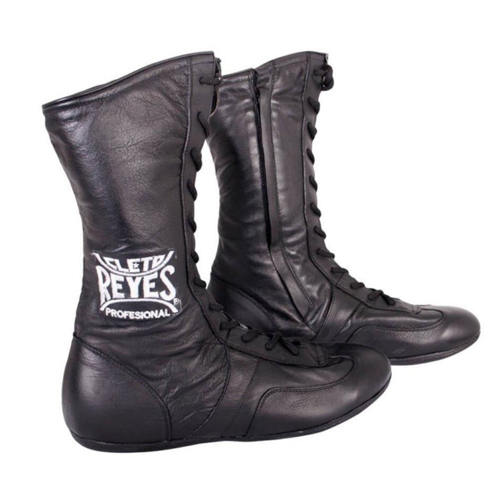 [Cleto Reyes] レザーハイトップボクシングシューズ – ブラック B00AFLLP8A  12 M US