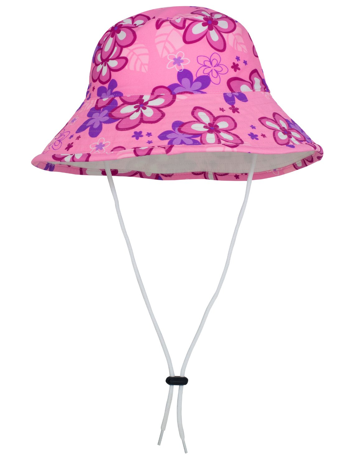 Tuga Girls Bucket Hat (UPF 50+), Blossom Pink, X-Large