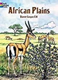 img - for [(African Plains Coloring Book )] [Author: Dianne Gaspas-Ettl] [Dec-1996] book / textbook / text book