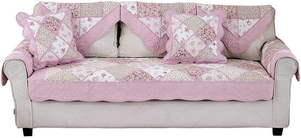 fundas de sofa anti gatos,1/2/3/4/5/6 plazas pequeña toalla de funda de sofá floral,fundas de sofá acolchadas de algodón universal,cojín de ventana de bahía de dormitorio de niña,para primavera ver: Amazon.es: Hogar