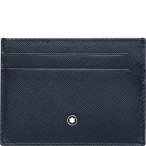Montblanc Sartorial Pocket 5CC Men's Small Leather Card Holder 116339