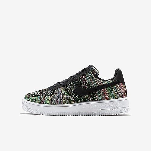 Nike Air Force 1 Flyknit 2.0 (GS), Chaussures de Basketball