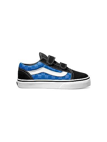 e3a8767911 Vans Sneakers Kids Checkerboard Old Skool V Boys  Amazon.co.uk  Shoes   Bags
