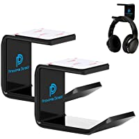 Headphone Stand Hanger, Proxima Direct Headset Holder Under Desk Mount Hook Hanger for All Size Wired Wireless Headphone…