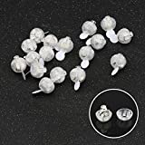 Accmor 50pcs LED Mini Round Ball Balloon Lights, Long Standby Time Ball Lights for Paper Lantern Balloon Party Wedding Decoration(White)