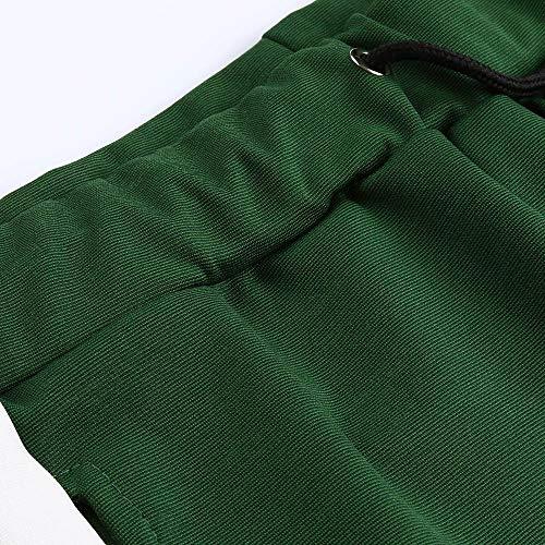 Travail Patchwork Hommes Cintres L'automne Poches Jeans Pantalons Joggers De Militaire Décontractée Vert Sport Ceinture Serrage Somesun Élastique Survêtement Joggeurs Cordon qdPqt