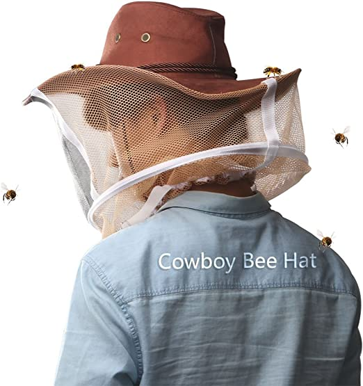 Beekeeping Beekeeper Cowboy Hat Mosquito Bee Insect E9N2 H6Y8 Prot Hea Face J4I2
