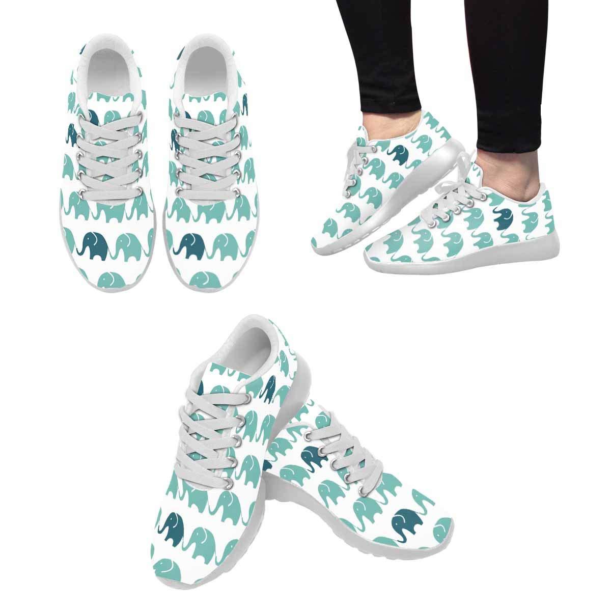 INTERESTPRINT Womens Jogging Sneakers Outdoor Sport Cross Training Shoes Flamingo Bird Pattern