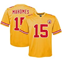 ZJFSL Camiseta NFL Jersey de fútbol Chiefs Inverted # 15Mahomes # 87Kelce Edición inversa Jersey de fútbol Bordado Manga Corta Top Deportivo