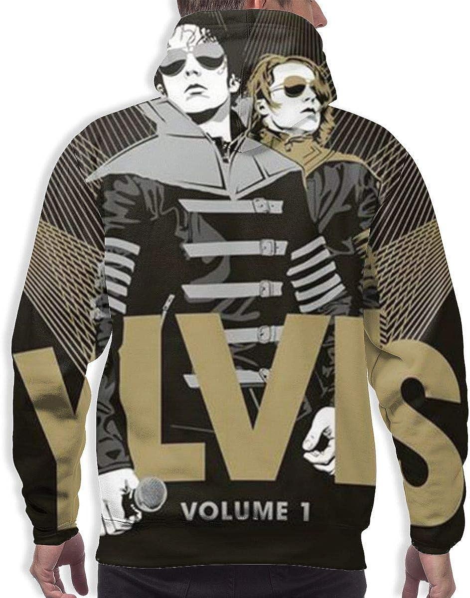 LEOUMAOYE Ylvis Volume Mens 3D All Print Hooded Sweatshirt