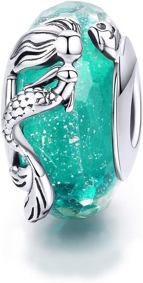 tortue poisson tropical pour bracelet original Blue Fishtail /& tears Wonderful Ocean Underwater World Breloque en argent sterling 925 en forme de requin