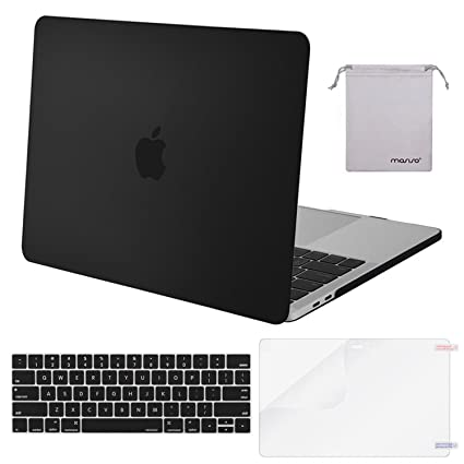 official photos a8ca6 11176 MOSISO MacBook Pro 15 inch Case 2019 2018 2017 2016 Release A1990 A1707,  Plastic Hard Shell &Keyboard Cover &Screen Protector &Storage Bag  Compatible ...