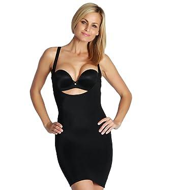 2f18d0a9e5 InstantFigure Womens Shapewear Underbust Slip Tank Dress at Amazon ...