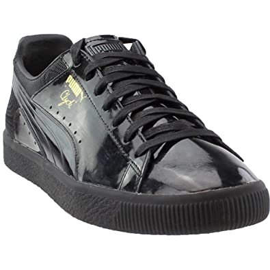 f1bc6d9d29a Image Unavailable. Image not available for. Color  PUMA Mens Clyde Wraith  Casual Athletic   Sneakers Black