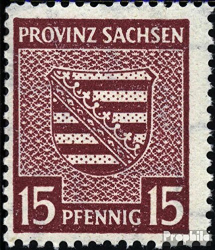 Soviet Zone (Allied.cast.) 80X A 1946 Provincial Coat of Arms (Stamps for ()