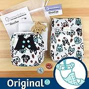 Doodles Collection - bumGenius Original 5.0 Pocket Cloth Diaper (Pawsome)