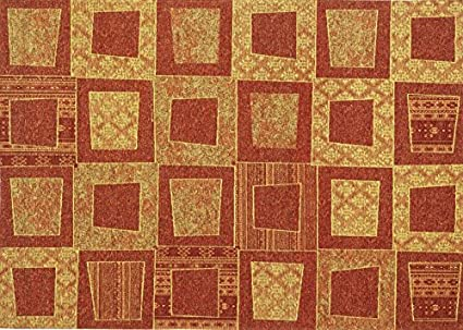 Boyteks Upside Chenille Escondido Tappeto per Arredo Antiscivolo, Misto Cotone, Oro, 56x140 cm Boyteks Tekstil Chenille Escondido CG