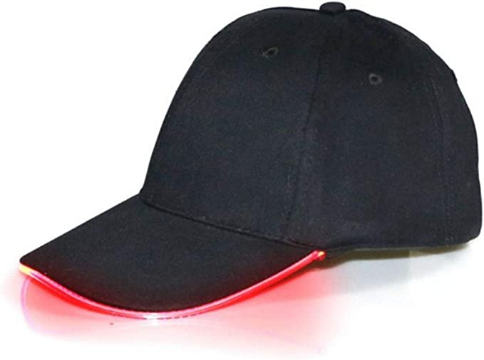 Free Shipping Adjustable Hip-hop Baseball Cap In The Dark Luminous Glow Hats