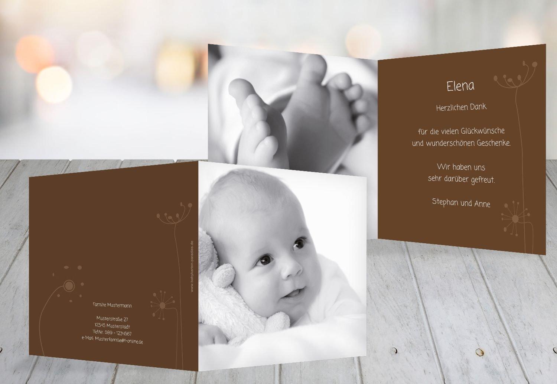 Kartenparadies Danksagung für Geburt Baby Dankeskarte Dankeskarte Dankeskarte abstrakte Blaumen, hochwertige Danksagungskarte Baby inklusive Umschläge   100 Karten - (Format  145x145 mm) Farbe  Orange B01MZFQ51H | Flagship-Store  | Attraktives Aussehen  | Ästhetische 9aaa72