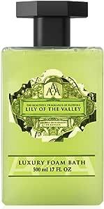 AAA Lily of the Valley Luxury Foam Bath, 500 Milliliter