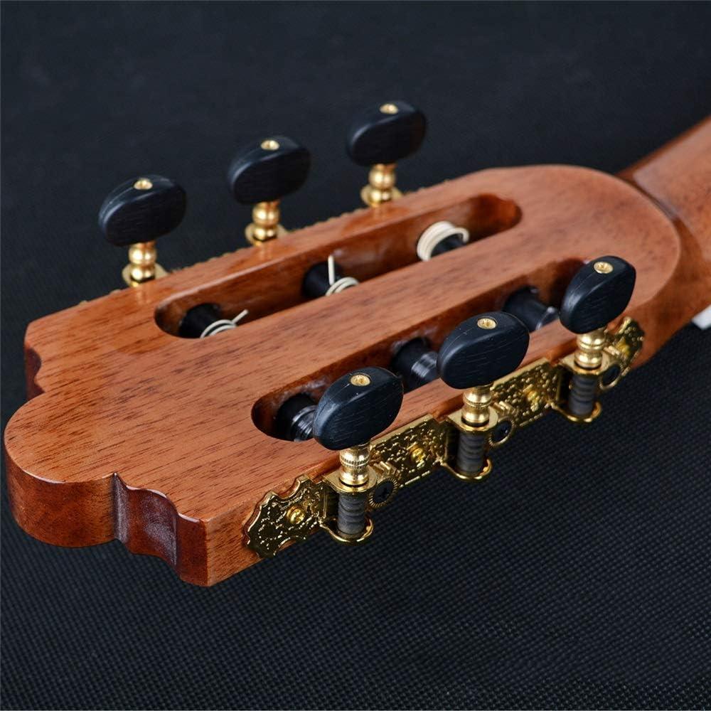 ZDAMN Guitarra Red Pine Chapa de Guitarra Clásica Guitarra Clásica ...