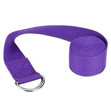 Cinturón de yoga duradero, resistente, liviano, portátil con ...