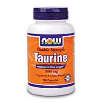 NOW Foods - Taurine Double Strength 1000 mg. - 100 Capsules