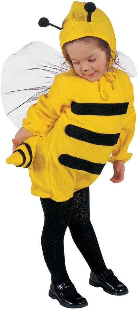 Disfraz de abeja Traje de abejorro niños 104 cm 2-3 años: Amazon ...