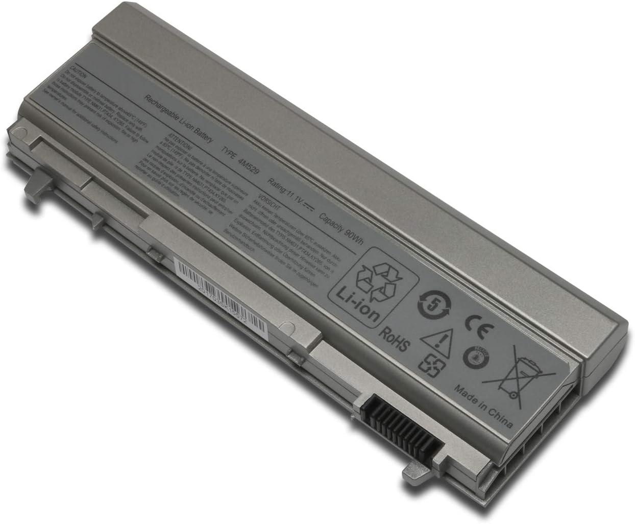 New 4M529 Laptop Replacement Battery for Dell Latitude E6400 E6500 E6410 E6510 Dell Precision M2400 M4400 M4500 M6400 M6500 11.1V 90Wh