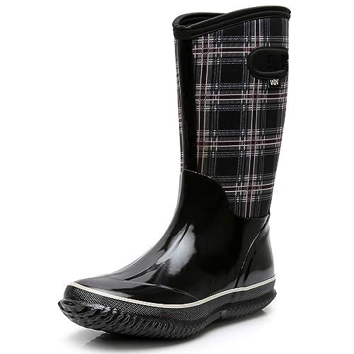 Neoprene Rubber Rain Snow Boots
