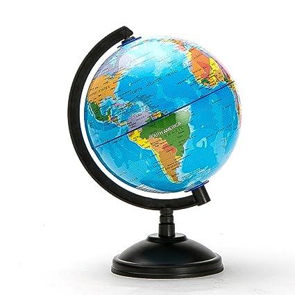 Globo inflable Globo inflable de la bola de playa del globo del mundo para jugar educativo de la playa