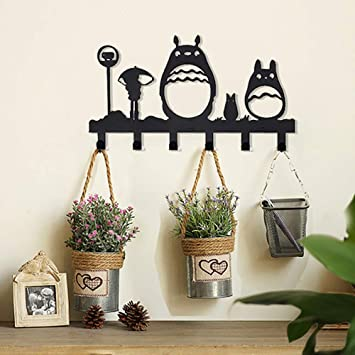 Totoro Anime - Perchero de pared con gancho para niños, el ...