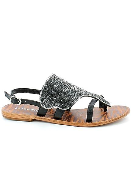 Cafè Noir KGB107 Sandales Tongs Accessoire Elephant Strap Cheville   Amazon.fr  Chaussures et Sacs 6a5957be7010