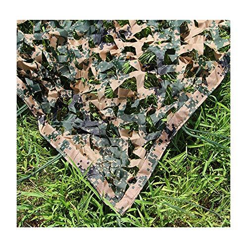 SJMWZW Tarnnetz, Das kampierendes Tarnnetz kampiert, kampiert, kampiert, kann für Waldtarnung benutzt Werden, um dekoratives Grün des Sonnenschutzes zu verstecken (Farbe   F, größe   6  6m) B07HL6X8QM Zelte Tadellos 36c775