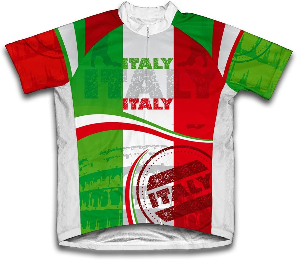 ScudoPro Italy Short Sleeve Cycling Jersey for Youth