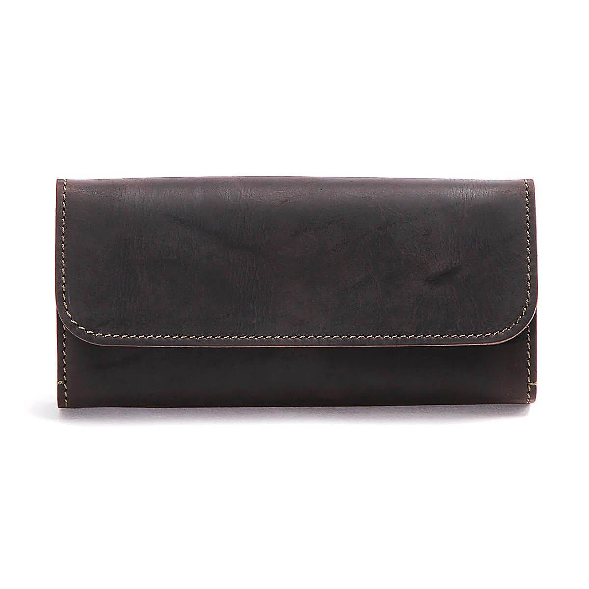 5f3826f81b8f スロウ 長財布 long kudu 333S26C B077TCFC13 ブラック ブラック wallet ...