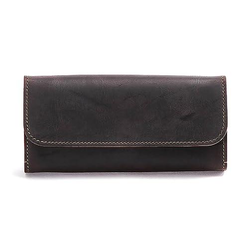 lowest price d7582 00e25 Amazon   スロウ 長財布 long wallet kudu 333S26C Black   SLOW ...