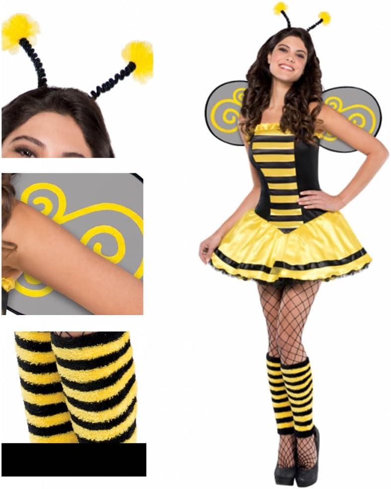 Christys Adults - Disfraz de abeja para adulto (talla 36-38, para ...