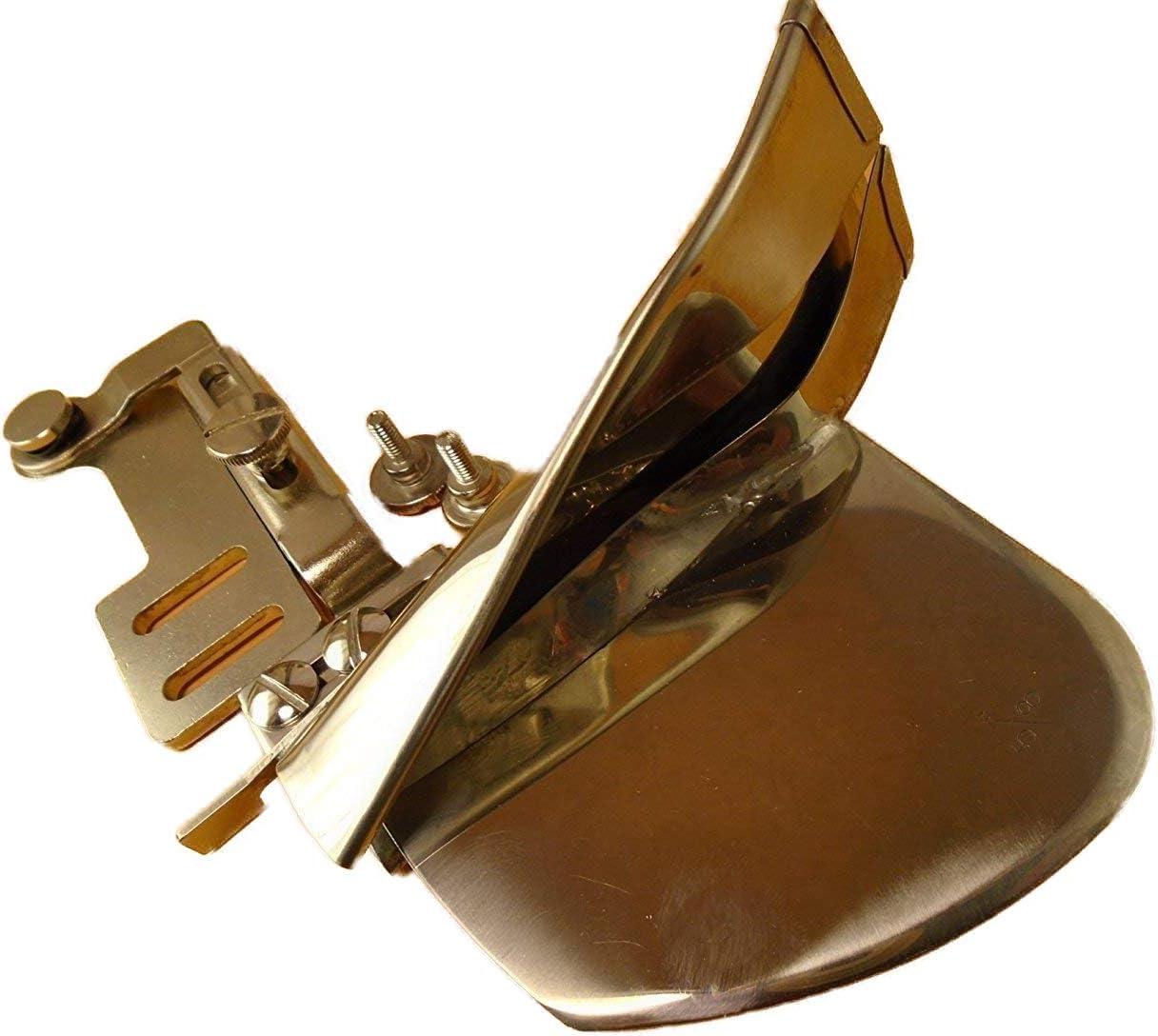 NGOSEW Sewing Machine Raw Plain Two Fold Swing Away Adjustable Tape Bias Binder 1-1//4