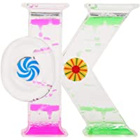 Ok Forma Color Dual Líquido Flotante Temporizador
