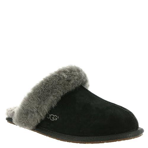 8ddfd92f571 UGG Women's Scuffette Ii Fashion Sneaker, Black/Grey, 8 M US: Amazon ...