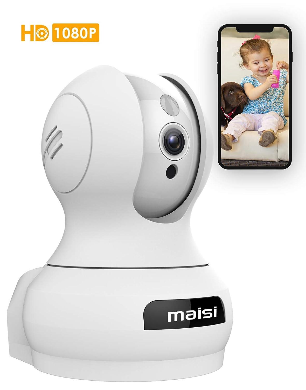 maisi 1080p 2MP Indoor Wireless Day Night Pan/Tilt Pet