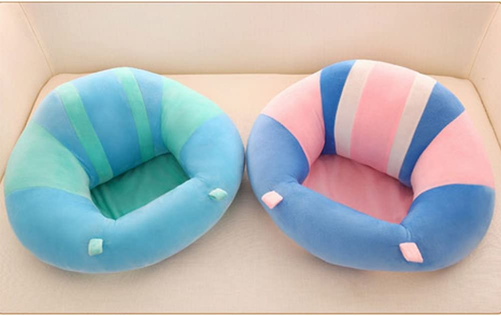 Amyove Soft Comfortable Baby Support Seat Sofa Creative Learn Sit Soft Chair Cushion Sofa Plush Pillow Toys Keep Sitting Posture for Baby