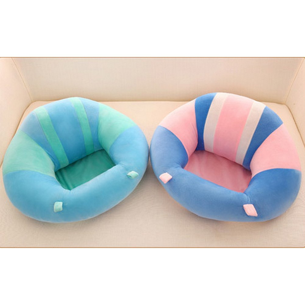Amyove Soft Comfortable Baby Support Seat Sofa Creative Learn Sit Soft Chair Cushion Sofa Plush Pillow Toys Keep Sitting Posture for Baby Baby