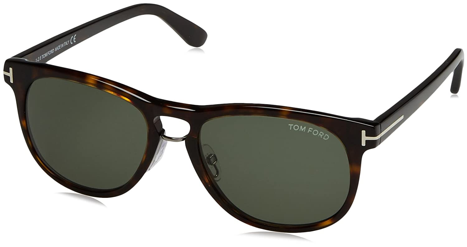 512351570af Tom Ford Men s Franklin FT0346-56N-55 Tortoiseshell Square Sunglasses  Tom  Ford  Amazon.ca  Sports   Outdoors