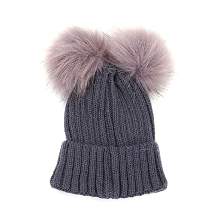 Oyfel Sombrero de Punto Bufanda de Invierno de Nieve Gorros Caliente Caza  Calido Orejas Christmas Navidad 8115060b9b5