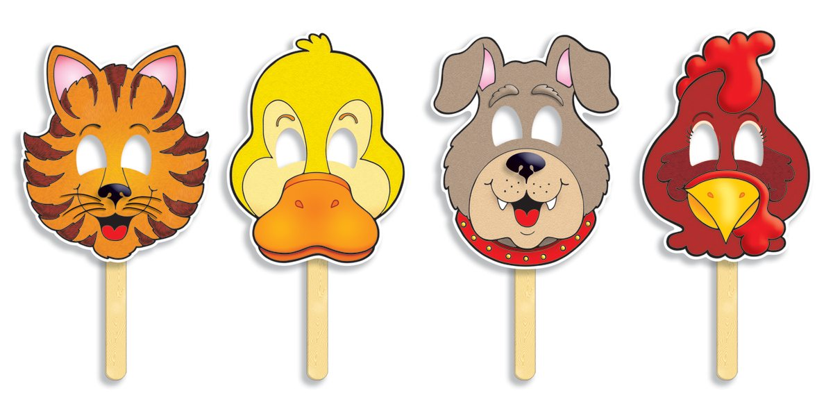 Little Red Hen Fairy Tale Masks With Easy-to-read Play!: Amazon.co ...