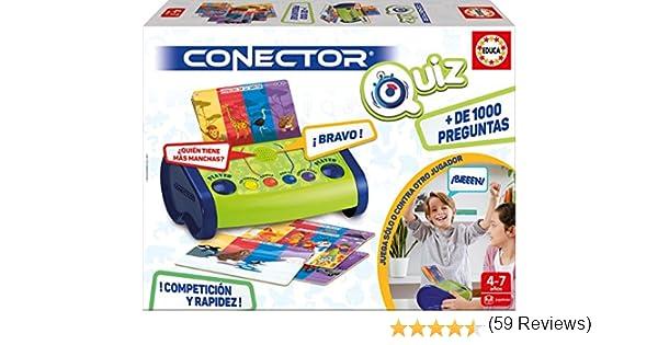 Educa Borrás- Conector Quizz, Juego Preguntas-respuestas electrónico (17437): Amazon.es: Juguetes y juegos
