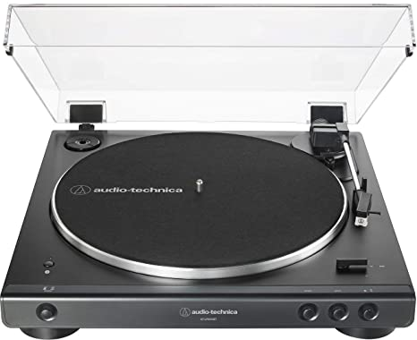 Amazon.com: Audio-Technica AT-LP60XBT-BK - Tocadiscos ...