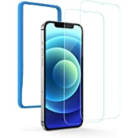 UGREEN 2 Pack Screen Protector for iPhone 12 mini 5.4 Inch Tempered Glass Screen Protector Anti-Scratch with Alignment…